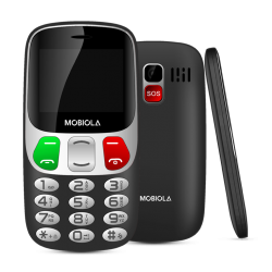 Mobiola MB800 Senior Dual SIM Black CZ