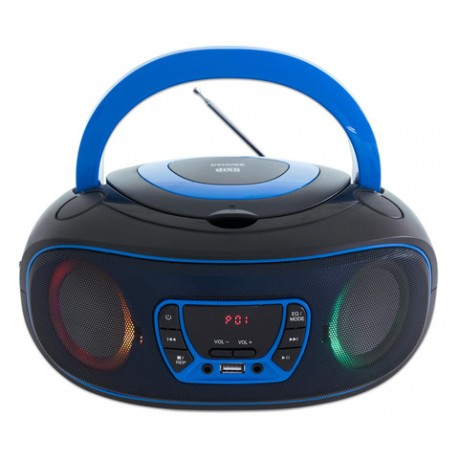 Radiopřijímač s cd Denver TCL-212BT Boombox, Bluetooth