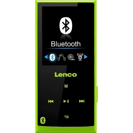 Lenco Xemio 760 BT, 8GB zelená