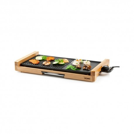 DOMO DO8311TP elektrický stolní gril bambusový