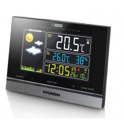 Meteostanice Hyundai WS 2303, barevný displej