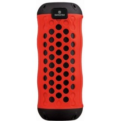 SWISSTEN X-BOOM Bluetooth reproduktor červený